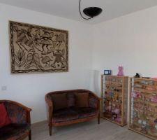 rideaux et toile de korhogo