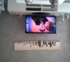 toile decorative cote salon