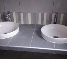 vasque et mitigeur