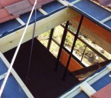 forage de toiture