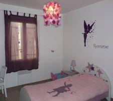 chambre de notre fille de 6 ans