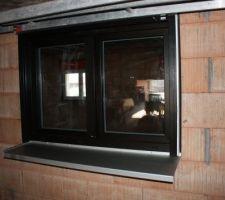 Tablette fenêtre alu