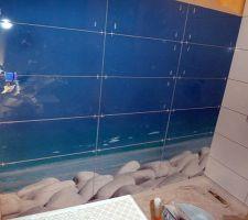 Carrelage salle bains 1: le panoramique zen