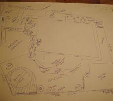 Premier essai de plan de jardin, mais je suis inexpérimentée donc j'attends vos retours :-)