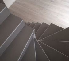 escalier termine