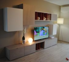 meuble tv de chez atylia installe
