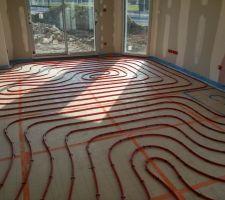 plancher chauffant basse temperature
