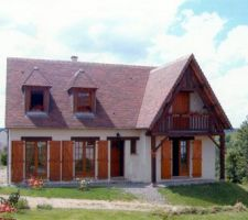 Exemple proche du style de la maison