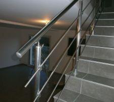 Et voici notre escalier!