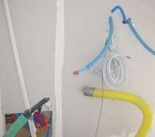 Emplacement de la chaudière gaz et du ballon thermodynamique.