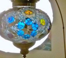 lampe faite main orientale