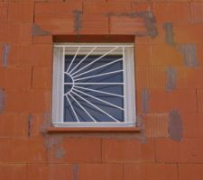 La fenêtre de la salle de bain