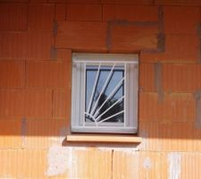 La fenêtre du cellier.