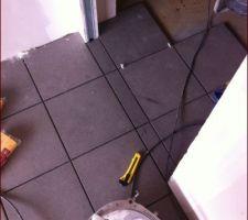 23/03/2915 : finitions entre garage et cellier