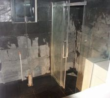 salle d eau ardoise