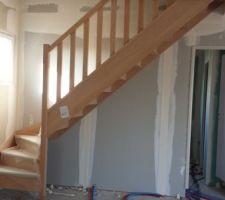 escalier poser