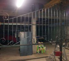 Fabrication de portail coulissant