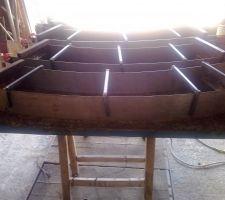 Fabrication et éssai des guillotines aux extrémités