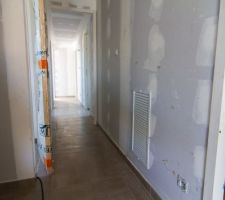 la surprise du ribo une plaque dans le couloir pour amener de l air frais