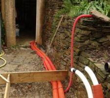 Installation de la PAC et changement de la pompe de filtration.