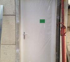 Porte de communication maison / garage