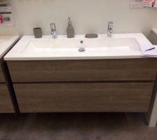 meuble en 120 dans la salle de bain