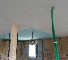 plafond de l etage
