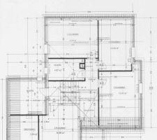 Plan du demi et étage