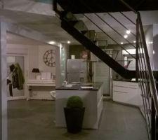 renovation cuisine ouverte avec ilot centrale