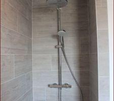 Douche italienne de l'étage