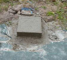 plots pour ossature terrasse