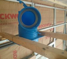 Coude UNELVENT pour tuyau semi rigide