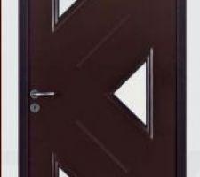 Notre porte d'entrée qui sera gris anthracite et tierce
