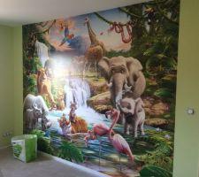 papier peint de la chambre de mon fils