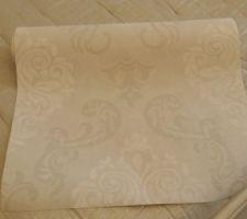 tapisserie pour deco partielle chambre parent