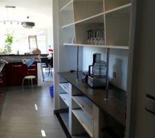 Aménagement du grand placard de la cuisine