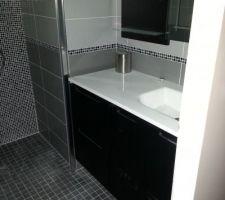 Les concepteurs artistiques leroy merlin salle de bain - Meuble salle de bain d angle leroy merlin ...