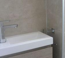 Lave mains wc