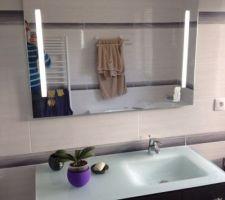 Meuble salle de bain composé nous même