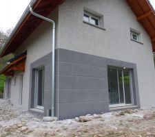 enduit weber gris perle 091 construction maison b ton arm. Black Bedroom Furniture Sets. Home Design Ideas