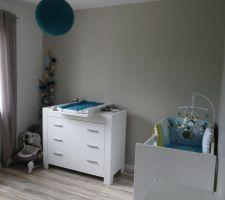 Aménagement de la chambre de notre futur petit bonhomme !
