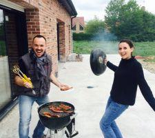 premier barbecue a la maison
