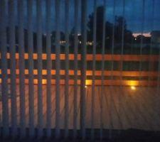 notee terrasse la nuit a nous les diner a la belle etoile