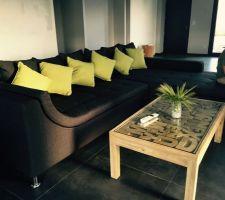 Premiers meubles....