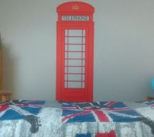 "The english Phone box! Pour mon ""petit"""