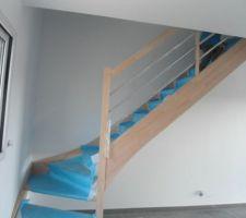 escalier riaux a bazouges la perouse