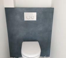 toilettes du haut