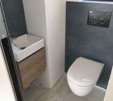 toilettes du bas