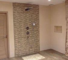 photos et idées salle de bain parement brique / pierre (104 photos) - Salle De Bain Avec Pierre De Parement