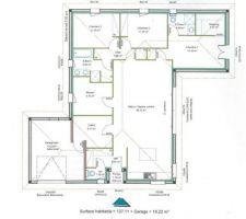 plan de la maison des modifications internes sont en cours